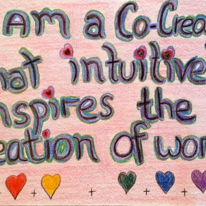 I am a Co-Creator - Inspirational Sign - Darryn Silver