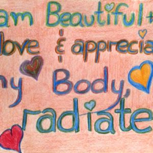 I Radiate - Inspirational Sign - Darryn Silver