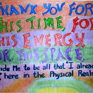 Thank You - Inspirational Sign - Darryn Silver